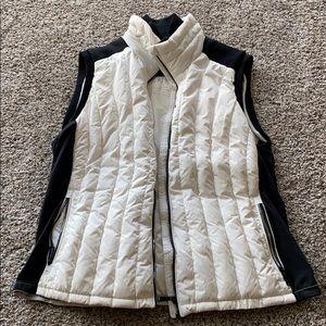 Calvin Klein women's black and white vest